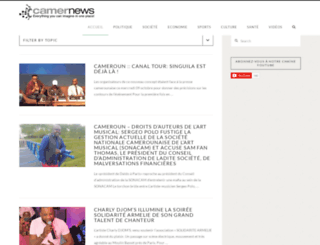 camernews.com screenshot