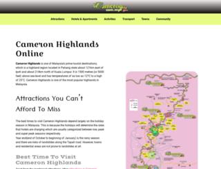 cameron-highlands.com screenshot