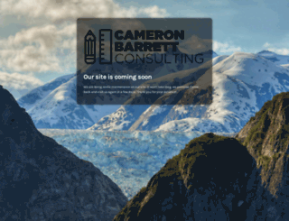 cameronbarrett.com screenshot