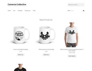cameroncollective.com screenshot