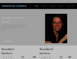 cameroncorner.com screenshot