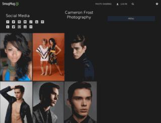 cameronfrost.smugmug.com screenshot