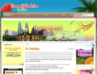 cameronhighland-online.com screenshot