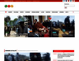 cameroon-info.net screenshot