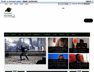 cameroun24.net screenshot