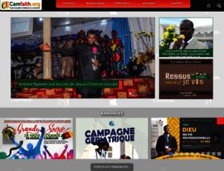 camfaith.org screenshot