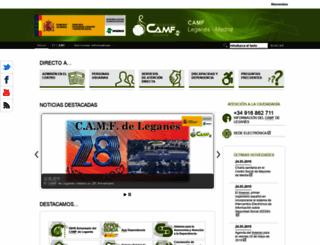 camfleganes.es screenshot