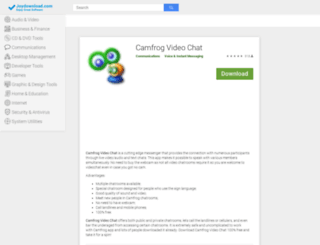 camfrog-video-chat.joydownload.com screenshot