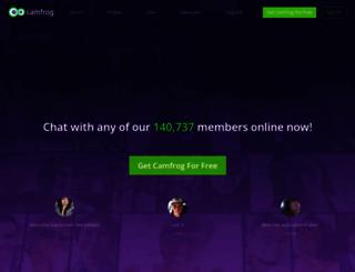 camfrog.com screenshot
