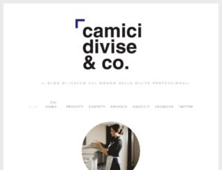 camicidivise.squarespace.com screenshot