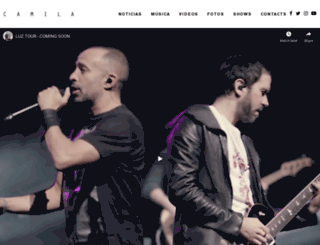 camila.tv screenshot
