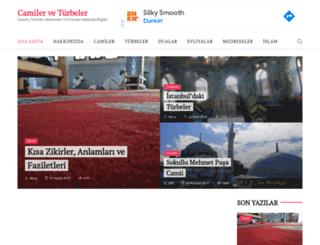 camilerveturbeler.com screenshot