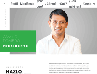 camiloromero.co screenshot