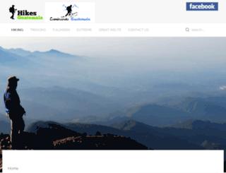 caminandoguatemala.com screenshot