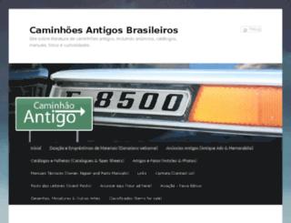 caminhaoantigobrasil.com.br screenshot