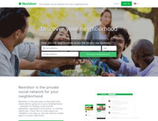 caminosouth.nextdoor.com screenshot