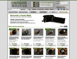 camion-militar.com screenshot