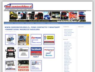 camionchileno.cl screenshot