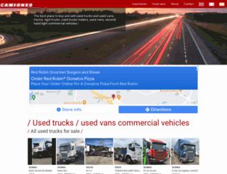 camioneo.com screenshot