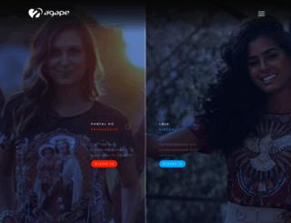 camisetasagape.com.br screenshot
