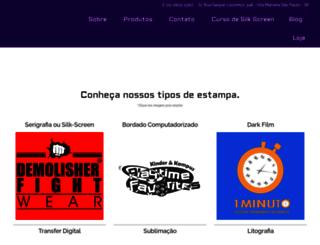 camisetasem12horas.com.br screenshot