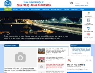 camle.danang.gov.vn screenshot