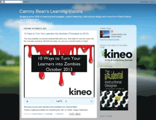 cammybean.kineo.com screenshot