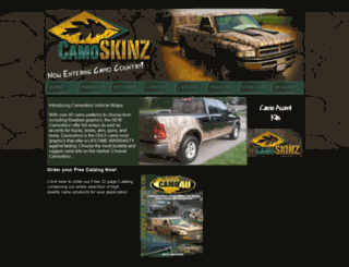 camoskinz.com screenshot