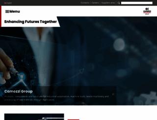 camozzigroup.com screenshot