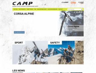 camp-france.fr screenshot