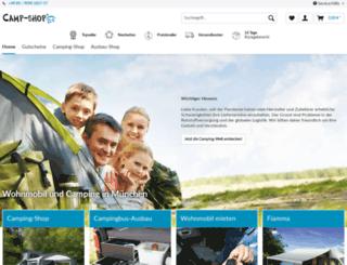 camp-shop24.de screenshot