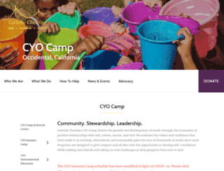 camp.cccyo.org screenshot