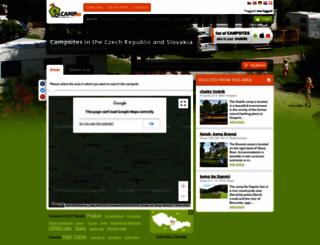 camp.cz screenshot