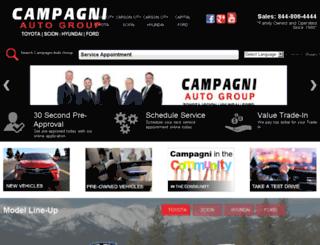 campagniautogroup.dealereprocess.com screenshot
