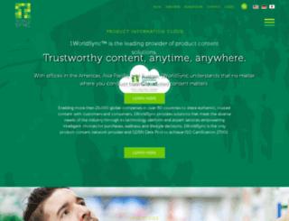 campaign.1worldsync.com screenshot