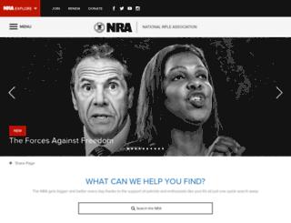 campaign.nra.org screenshot