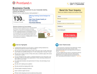 campaign.printland.in screenshot