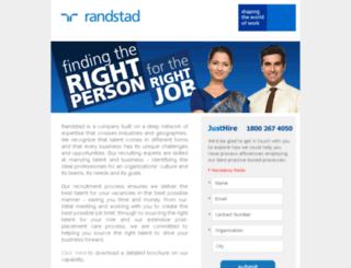 campaign.randstad.in screenshot