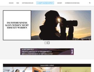 campaigndiaries.com screenshot