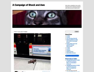 campaignofshockandawe.wordpress.com screenshot