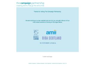 campaignpartners.co.uk screenshot