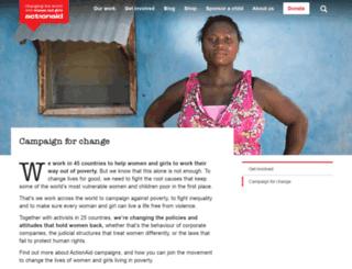 campaigns.actionaid.org.uk screenshot