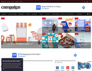 campaigntr.com screenshot
