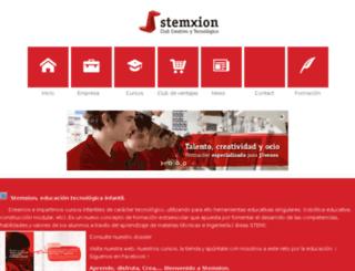 campamentos-stemxion.com screenshot