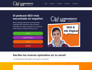 campamentoweb.com screenshot