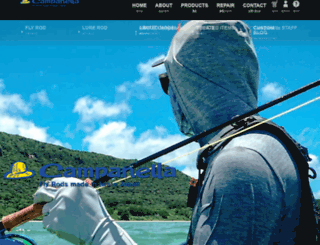 campanellafishing.com screenshot