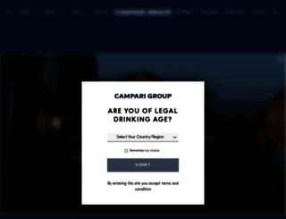 campariamerica.com screenshot