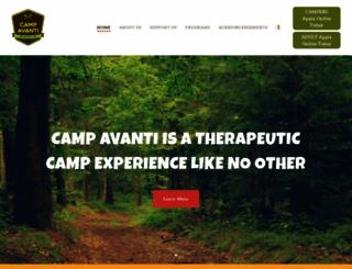 campavanti.com screenshot