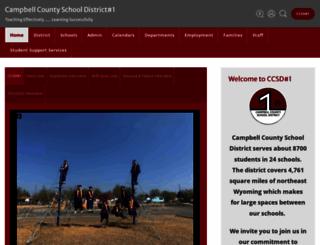 campbellcountyschools.net screenshot