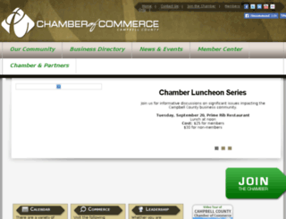 campbellcountywycoc.weblinkconnect.com screenshot
